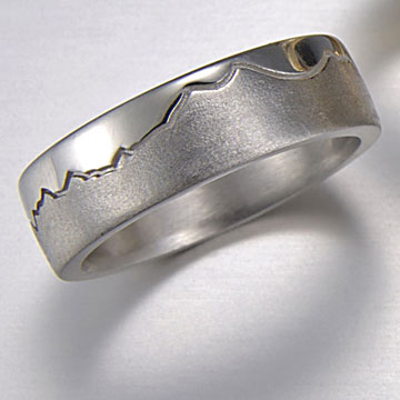 Boulder mountain rings range rings cronin jewelers for Jewelry stores boulder co
