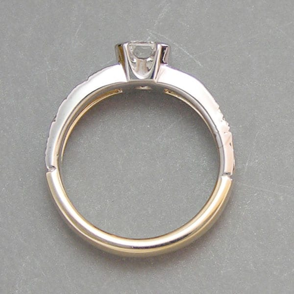 Mountain wedding rings in boulder range rings cronin for Jewelry stores boulder co